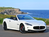 Maserati GranCabrio Sport AU-spec 2011 wallpapers