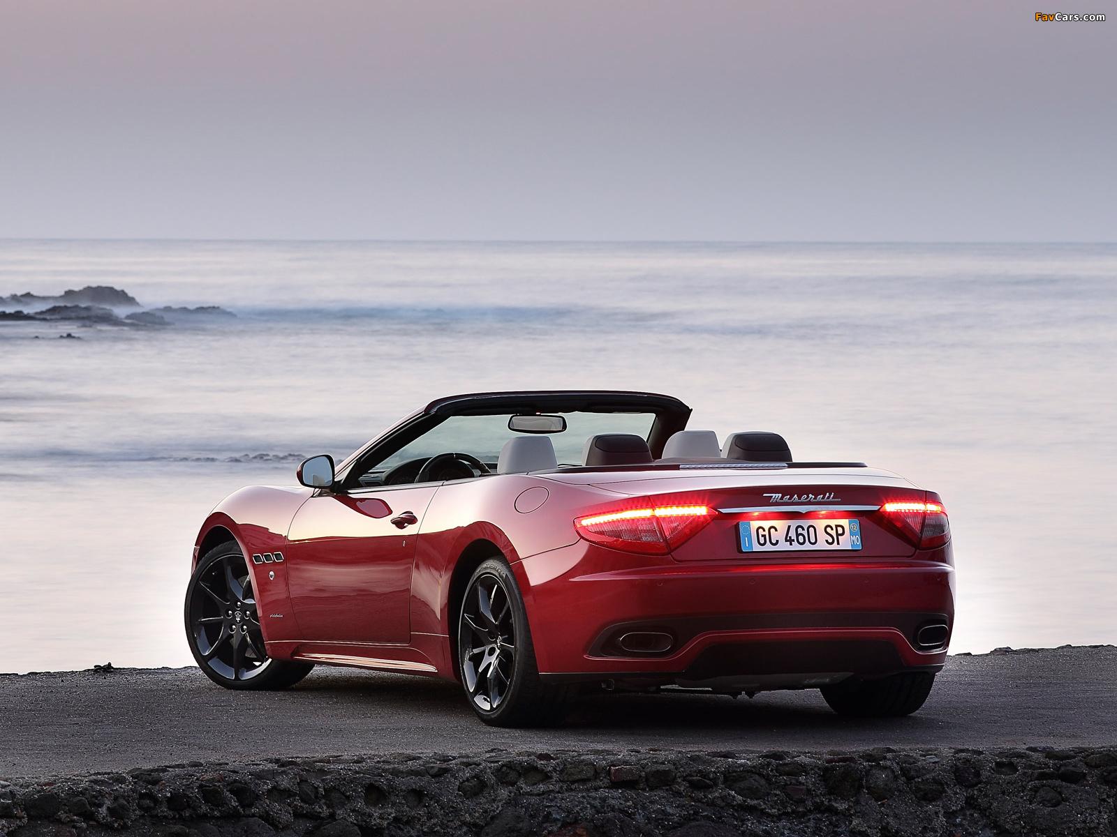 Maserati GranCabrio Sport 2012 images (1600 x 1200)