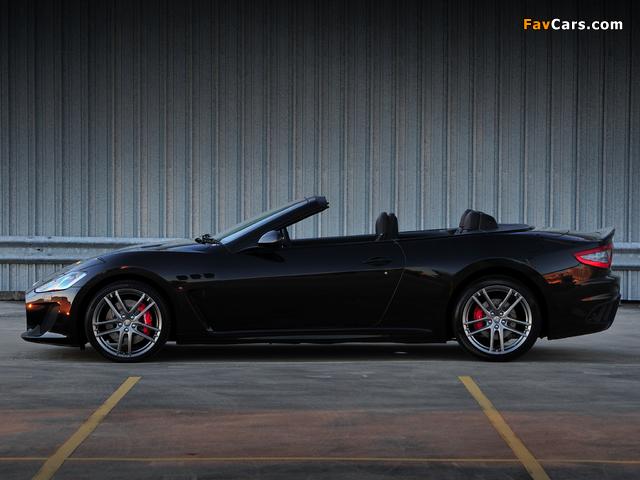 Maserati GranCabrio MC AU-spec 2013 pictures (640 x 480)