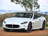 Maserati GranCabrio Sport AU-spec 2011 photos