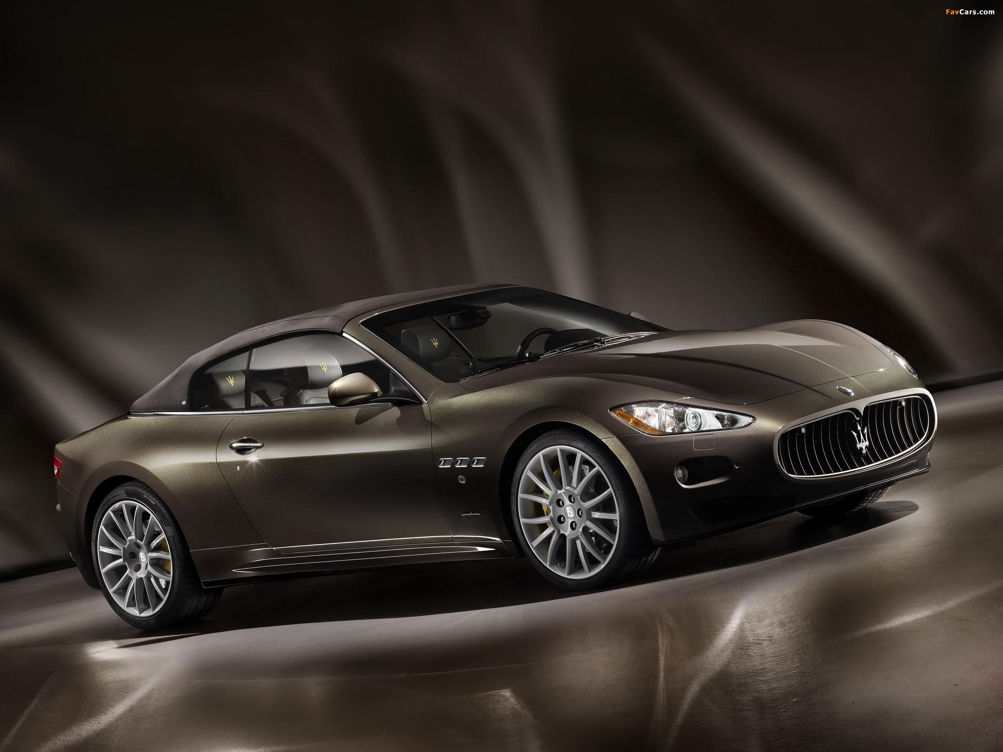 Maserati GranCabrio Fendi 2011 pictures (2048 x 1536)