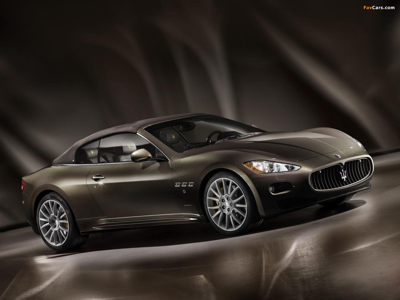 Maserati GranCabrio Fendi 2011 pictures (1280 x 960)