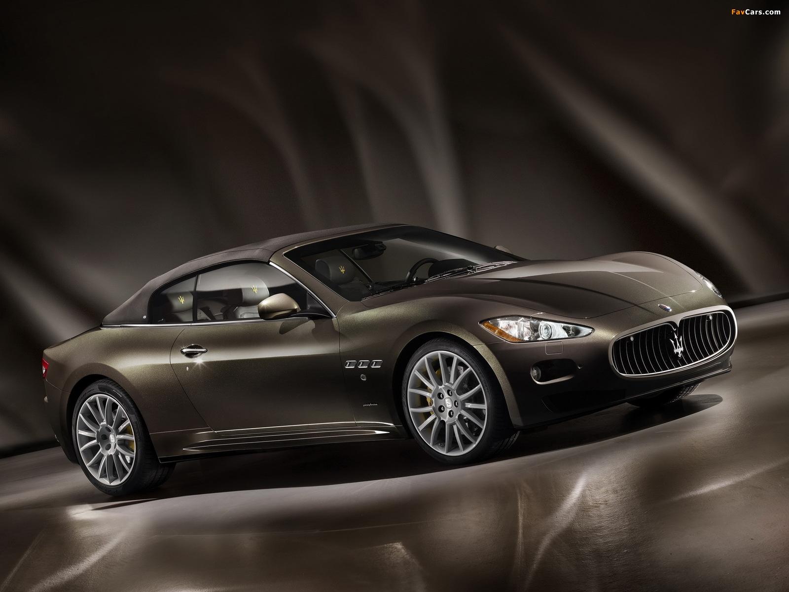 Maserati GranCabrio Fendi 2011 pictures (1600 x 1200)