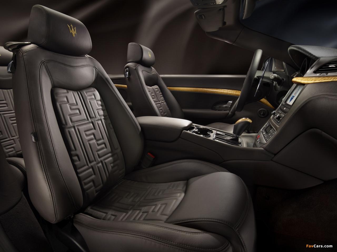 Photos of Maserati GranCabrio Fendi 2011 (1280 x 960)