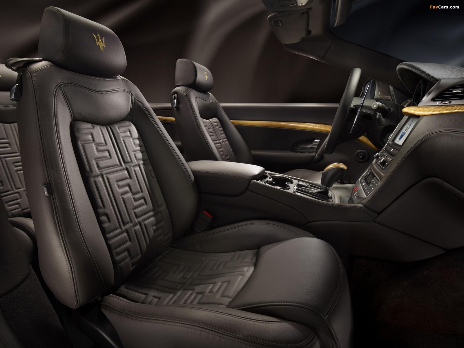 Photos of Maserati GranCabrio Fendi 2011 (1600 x 1200)