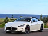 Photos of Maserati GranCabrio Sport AU-spec 2011