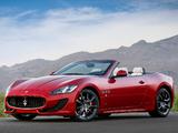 Photos of Maserati GranCabrio Sport 2012