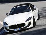 Photos of Maserati GranCabrio MC 2013