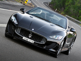 Photos of Maserati GranCabrio MC AU-spec 2013