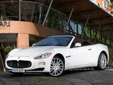 Pictures of Maserati GranCabrio UK-spec 2010