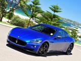 Images of Maserati GranTurismo S MC Sport Line AU-spec 2009–12