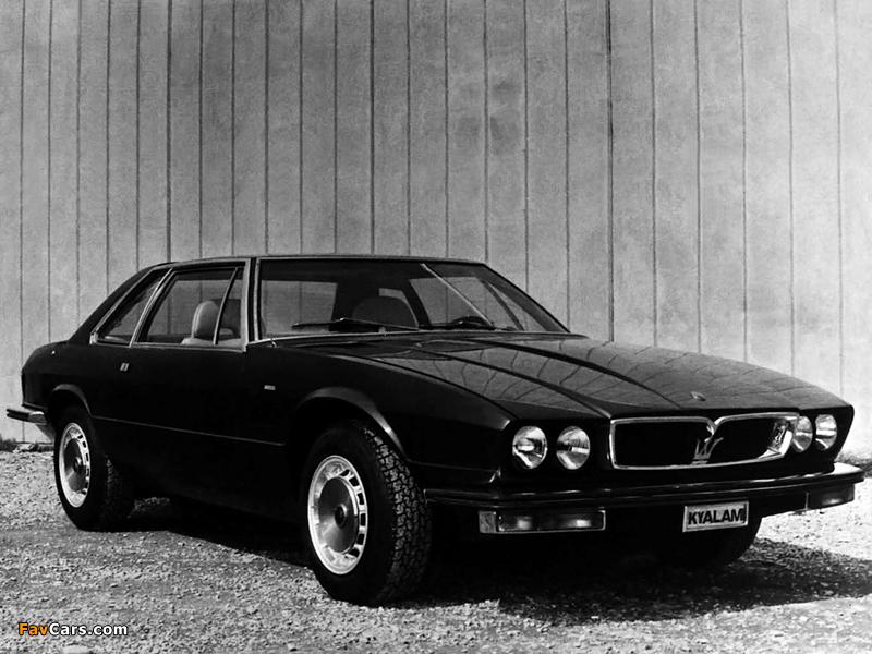 Pictures of Maserati Kyalami (AM129) 1976–83 (800 x 600)