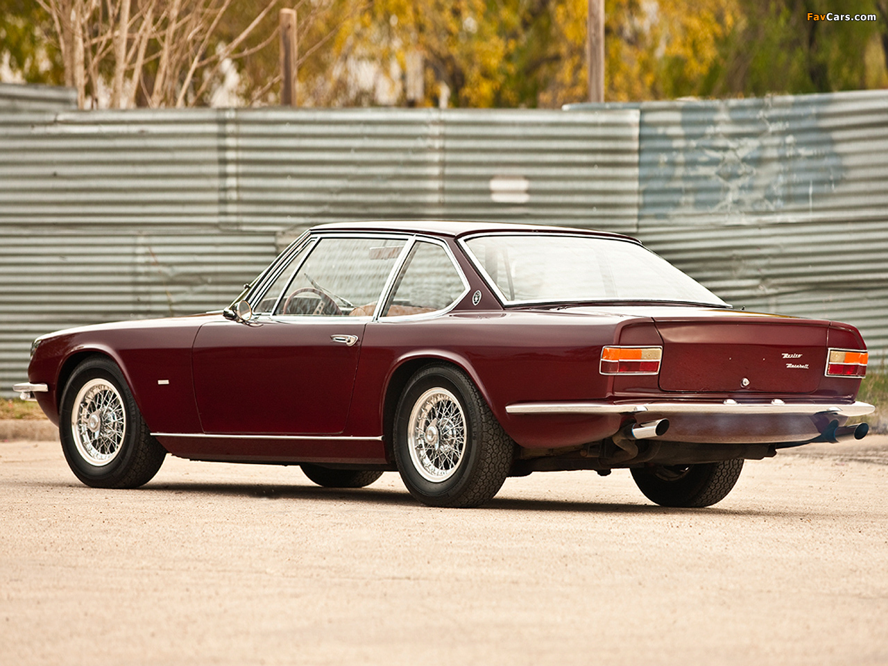 Images of Maserati Mexico Speciale by Frua 1967 (1280 x 960)