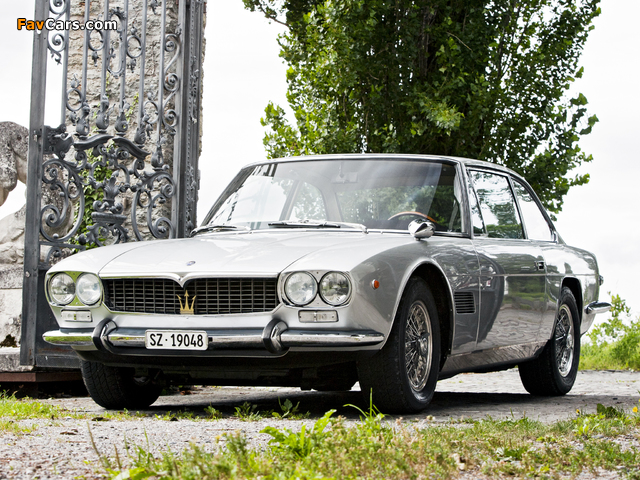 Pictures of Maserati Mexico (AM112) 1966–69 (640 x 480)