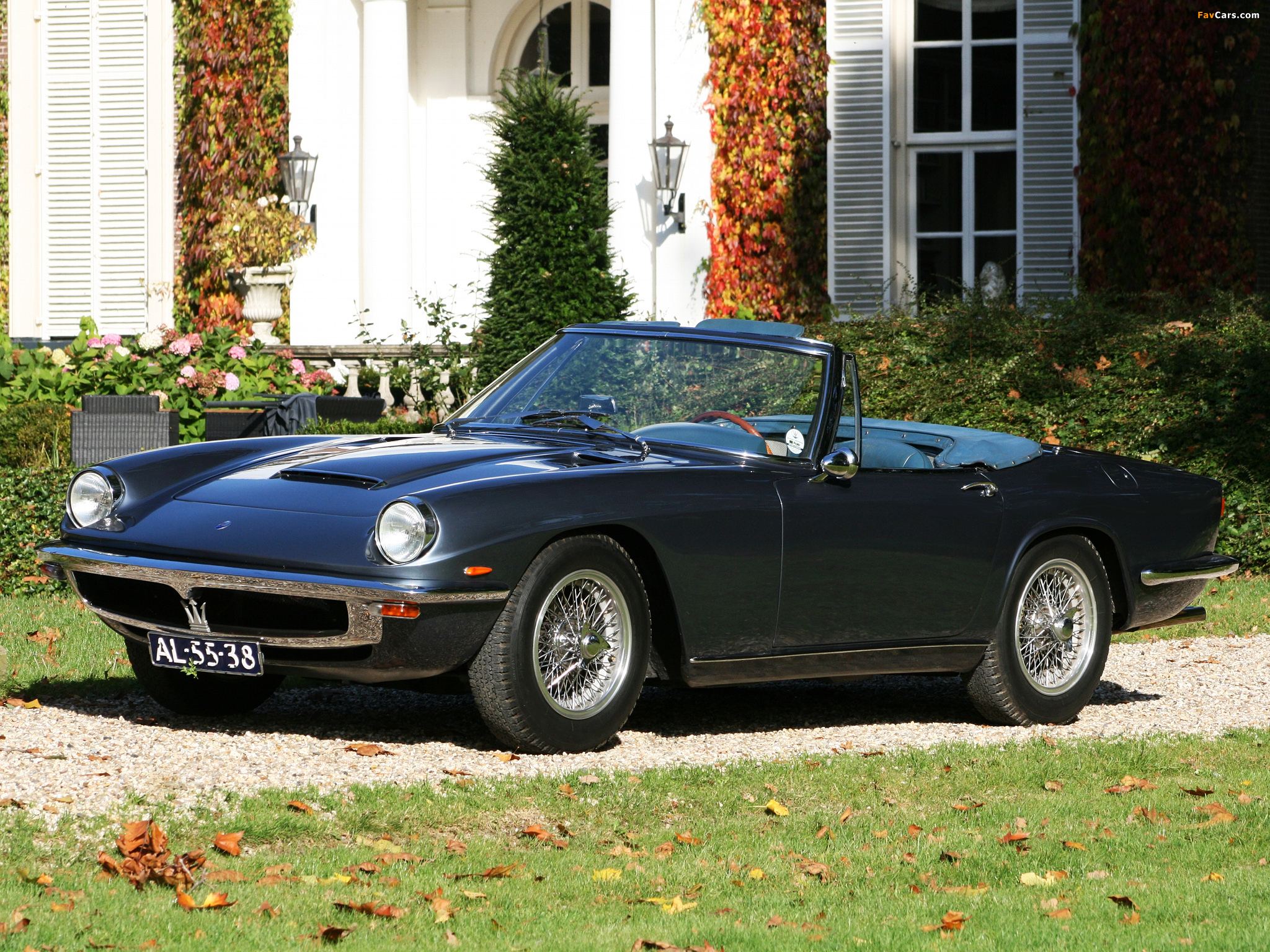 Pictures of Maserati Mistral Spyder 1963-70 (2048x1536)