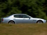 Images of Maserati Quattroporte UK-spec 2004–08