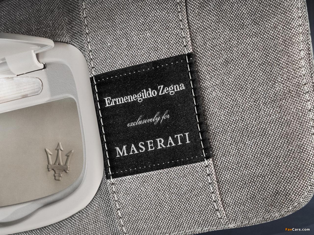 Images of Maserati Quattroporte Ermenegildo Zegna 2014 (1280 x 960)