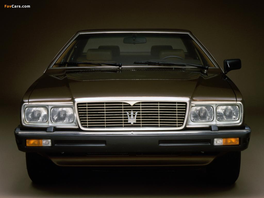 Maserati Quattroporte (III) 1979–86 images (1024 x 768)