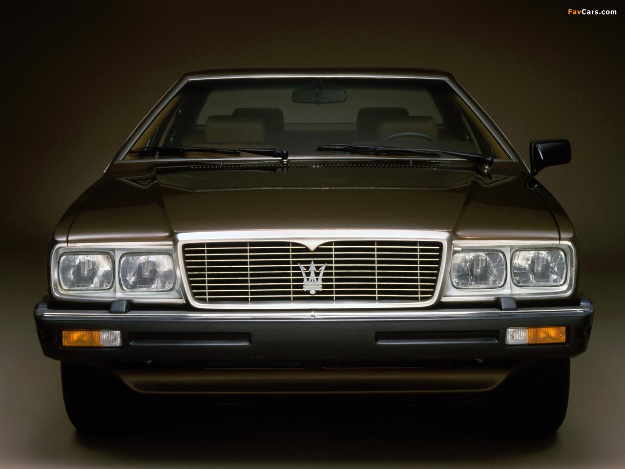 Maserati Quattroporte (III) 1979–86 images (1280 x 960)