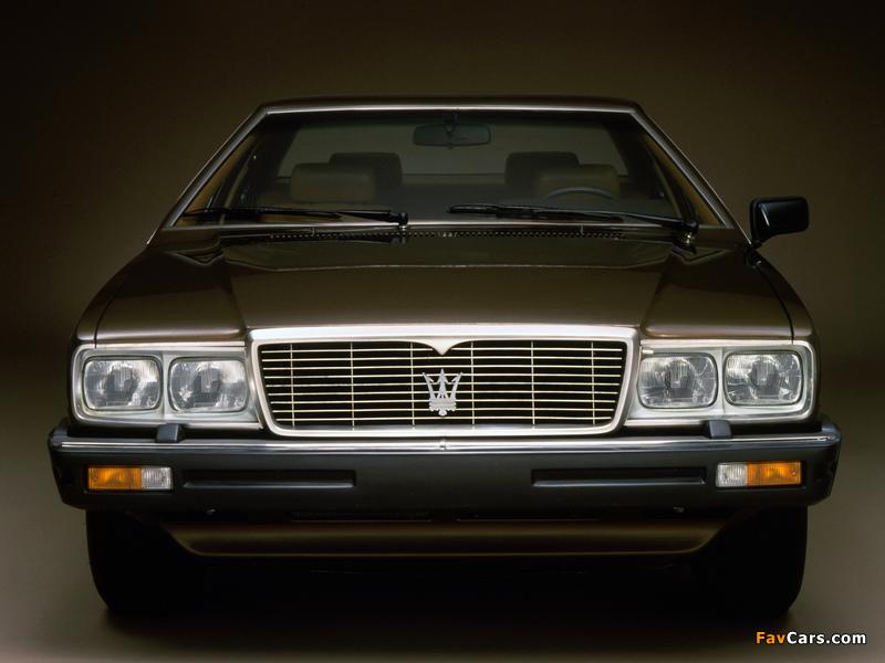 Maserati Quattroporte (III) 1979–86 images (800 x 600)