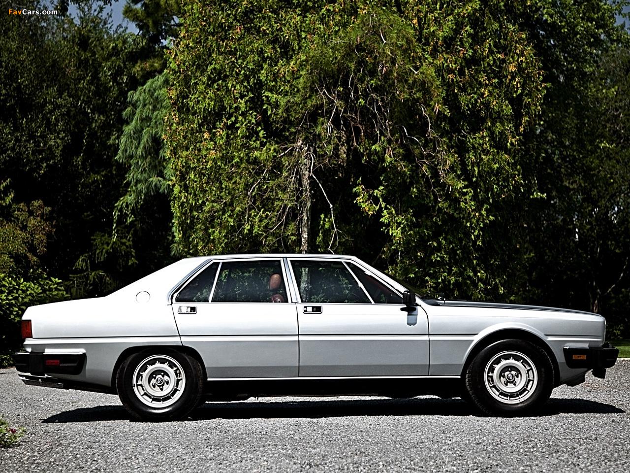 Maserati Quattroporte (III) 1979–86 pictures (1280 x 960)