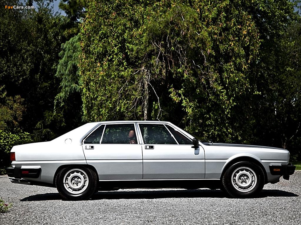 Maserati Quattroporte (III) 1979–86 pictures (1024 x 768)