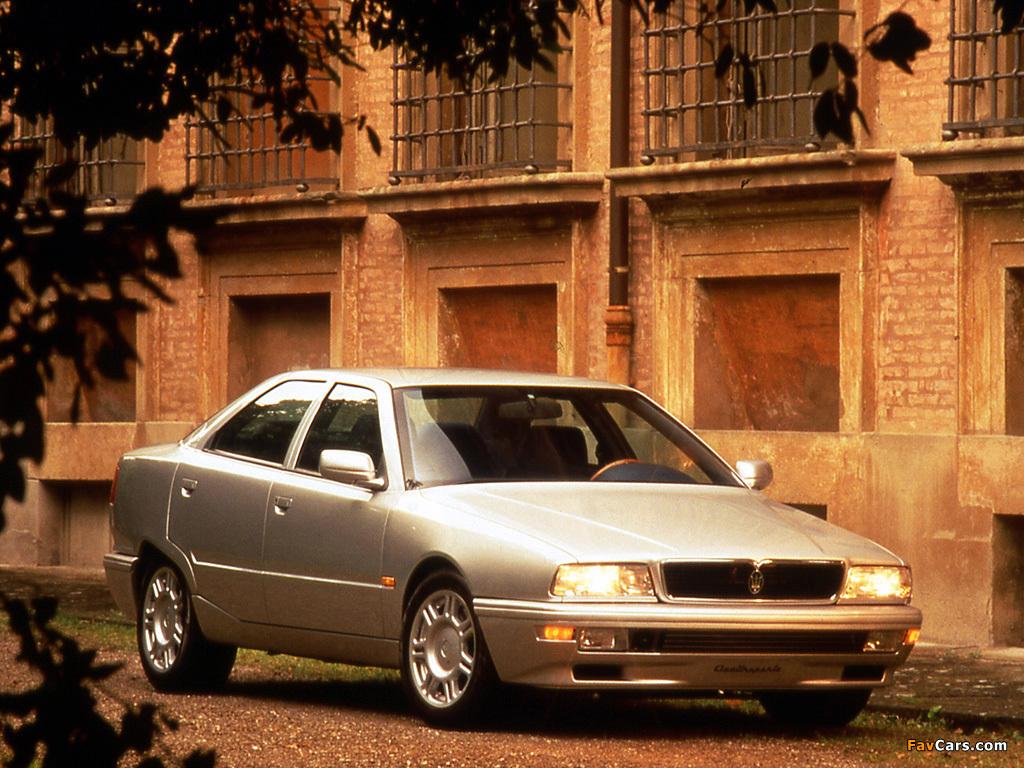 Maserati Quattroporte (IV) 1994-98 photos (1024x768)