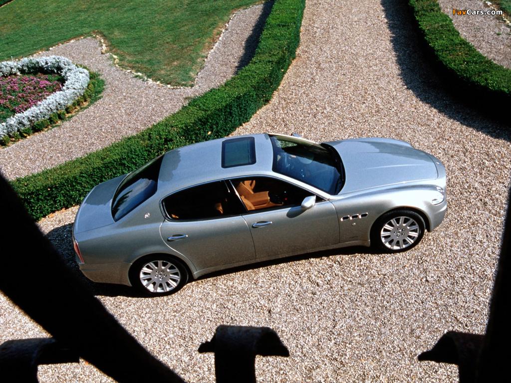 Maserati Quattroporte (V) 2004-08 images (1024x768)