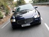 Maserati Quattroporte Automatic (V) 2005–08 pictures