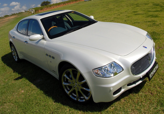 2005 maserati quattroporte specs