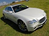 Maserati Quattroporte Automatic AU-spec (V) 2005–08 wallpapers