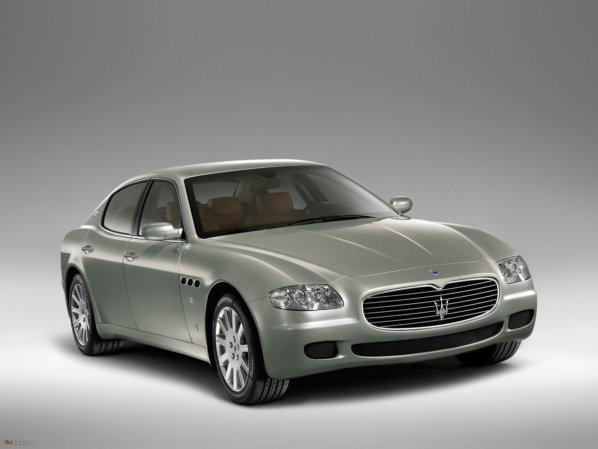 Maserati Quattroporte Automatic (V) 2005-08 wallpapers ...