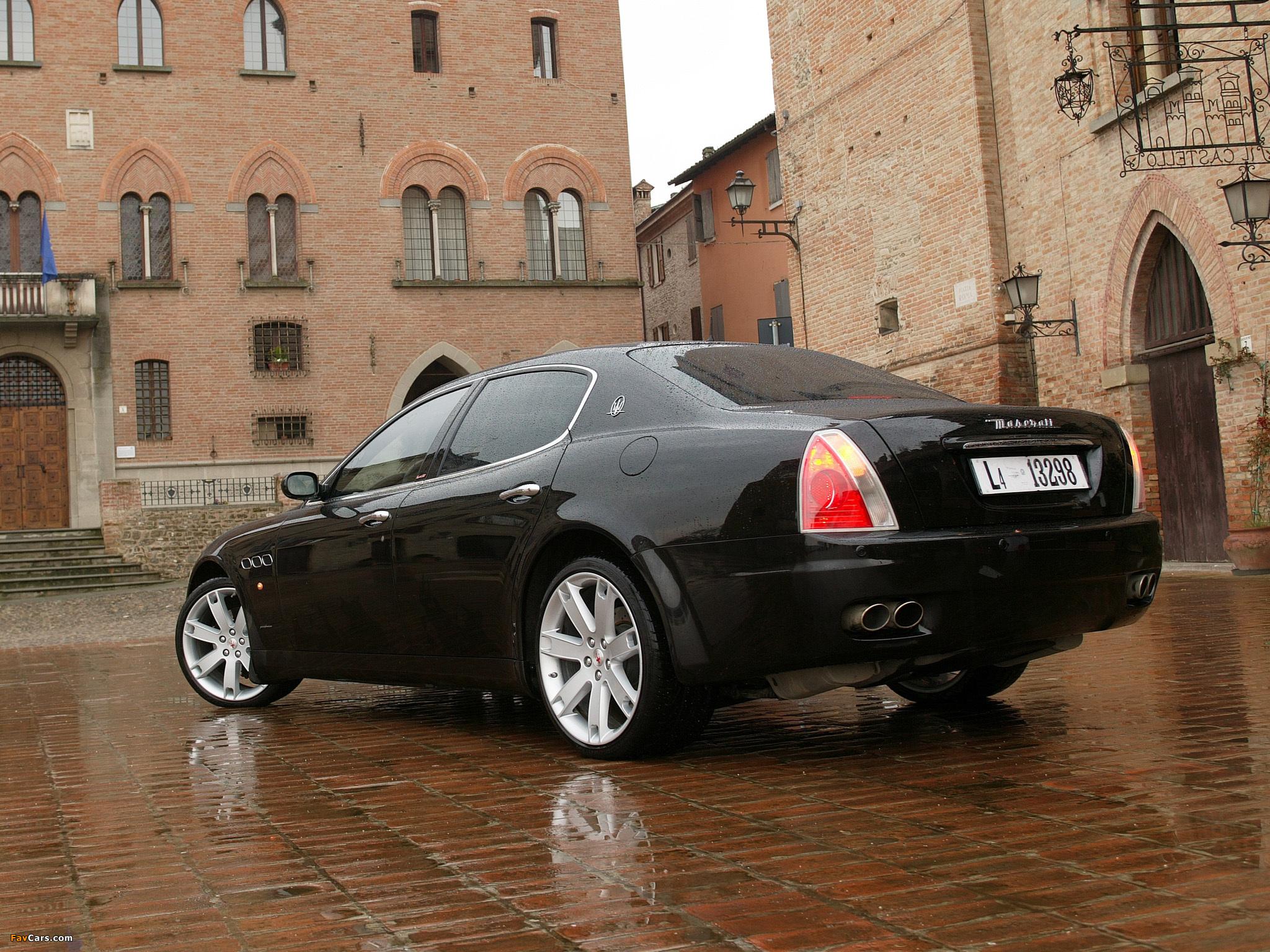 Maserati Quattroporte Sport GT (V) 2006–08 images (2048 x 1536)