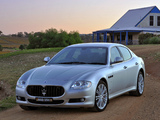 Maserati Quattroporte AU-spec (V) 2008 pictures