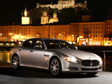 Maserati Quattroporte S 2008–12 wallpapers