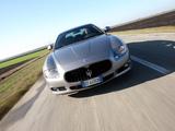 Maserati Quattroporte Sport GT S 2009–12 pictures