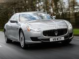 Maserati Quattroporte S UK-spec 2013 photos