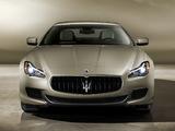Maserati Quattroporte GTS 2013 wallpapers