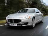Maserati Quattroporte S UK-spec 2013 wallpapers