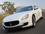 Maserati Quattroporte S AU-spec 2014 photos