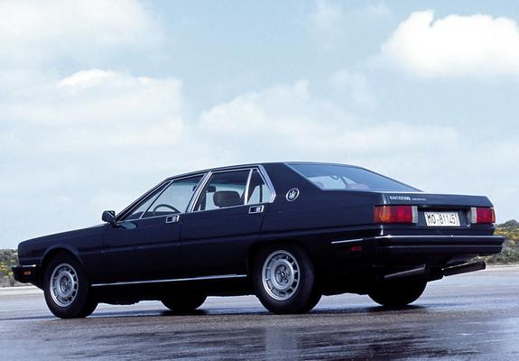 Photos of Maserati Quattroporte (III) 1979-86