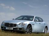 Pictures of Maserati Quattroporte UK-spec 2004–08