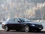 Pictures of Maserati Quattroporte Automatic (V) 2005–08