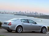 Pictures of Maserati Quattroporte AU-spec (V) 2008