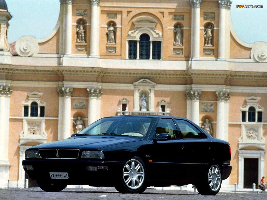 Maserati Quattroporte Evoluzione (IV) 1998-2001 wallpapers ...