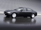 Maserati Quattroporte Automatic (V) 2005–08 wallpapers