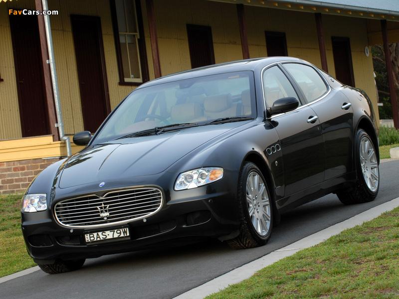 Maserati Quattroporte Automatic AU-spec (V) 2005-08 ...