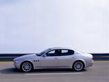 Maserati Quattroporte Sport GT (V) 2006–08 wallpapers