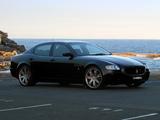 Maserati Quattroporte Sport GT S AU-spec 2008 wallpapers