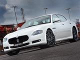 Maserati Quattroporte Sport GT S MC Sport Line AU-spec 2010–12 wallpapers